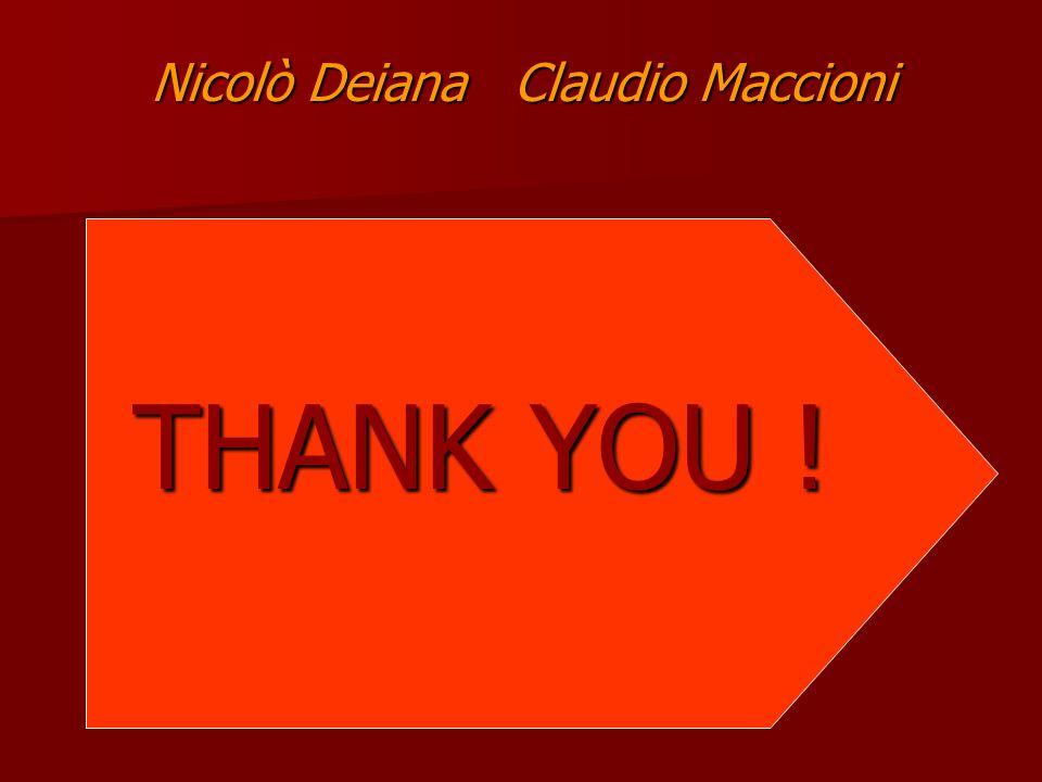 Nicolò Deiana Claudio Maccioni