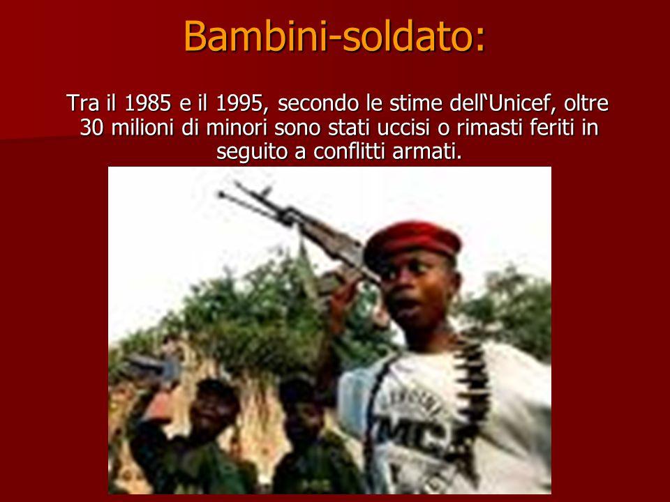 Bambini-soldato: