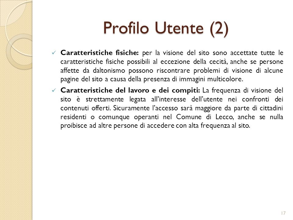 Profilo Utente (2)
