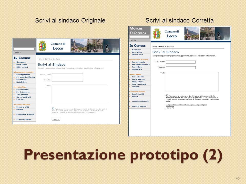 Presentazione prototipo (2)