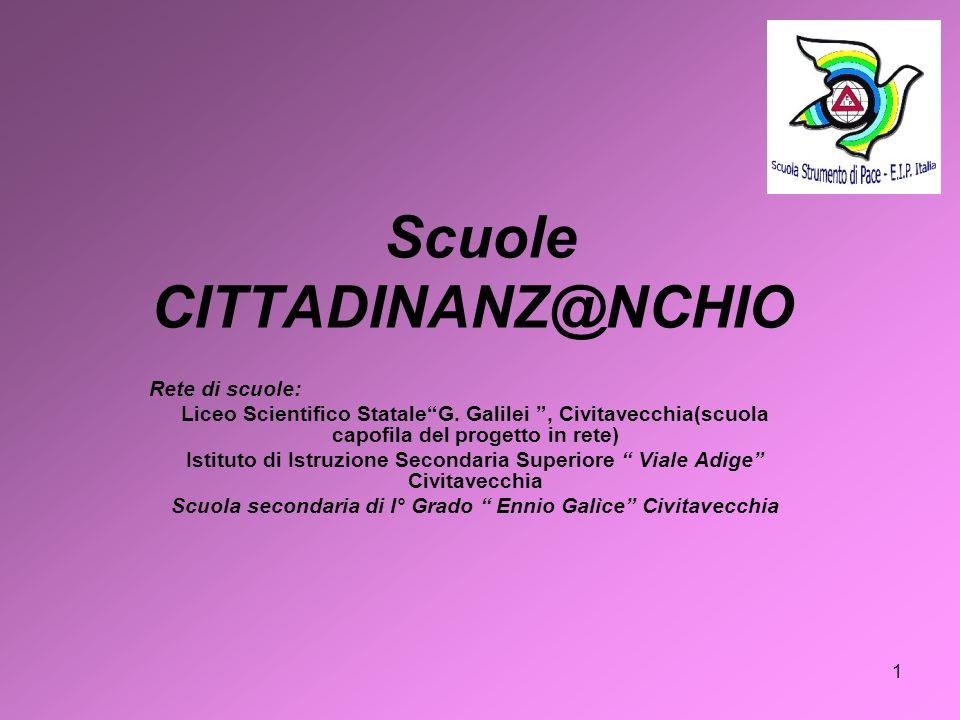 Scuole CITTADINANZ@NCHIO