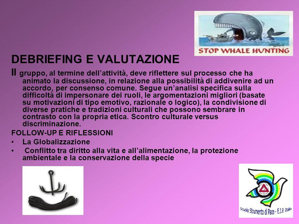 DEBRIEFING E VALUTAZIONE