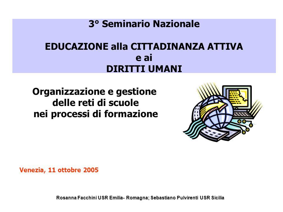 Organizzazione e gestione nei processi di formazione