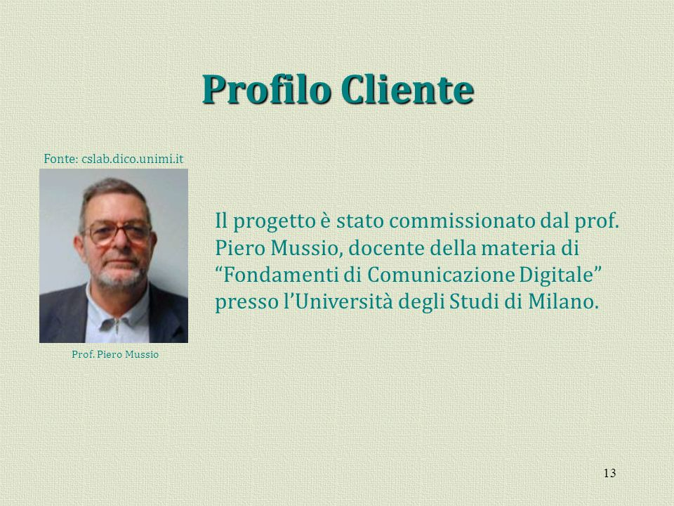 Fonte: cslab.dico.unimi.it