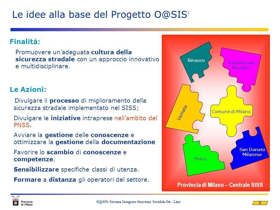 Le idee alla base del Progetto O@SIS2