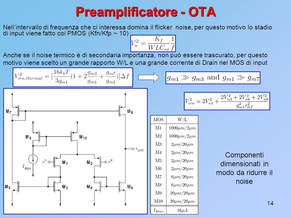 Preamplificatore - OTA