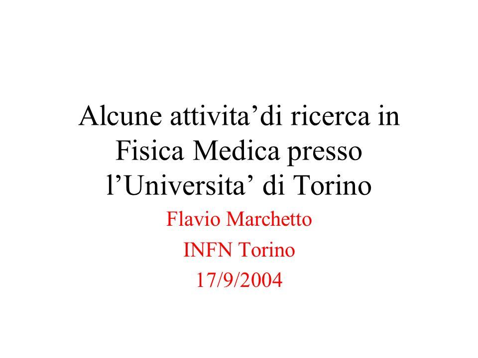 Flavio Marchetto INFN Torino 17/9/2004