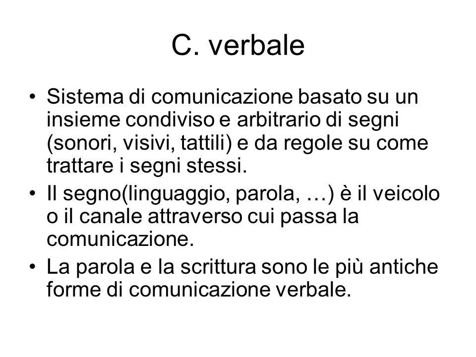 C. verbale