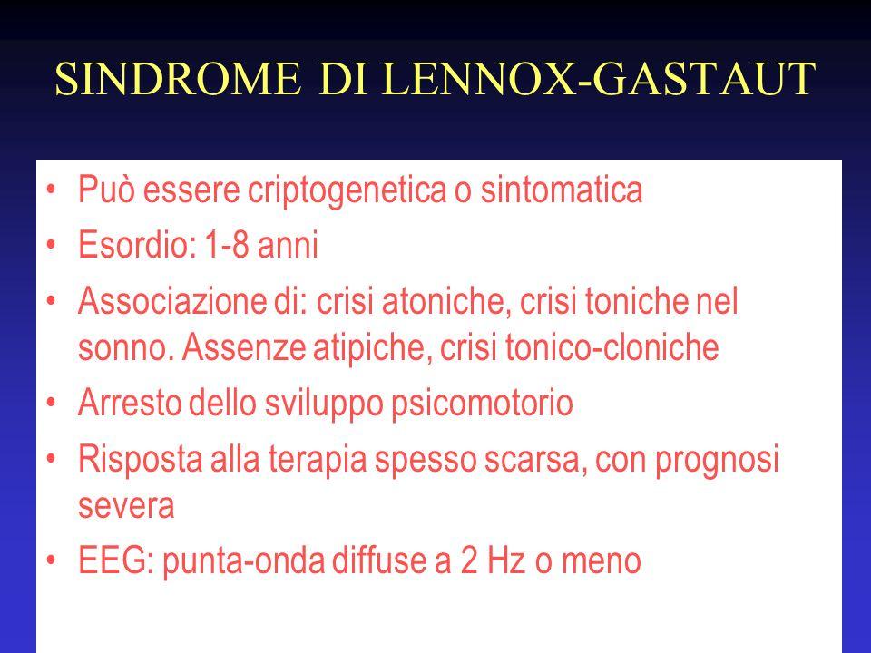 SINDROME DI LENNOX-GASTAUT