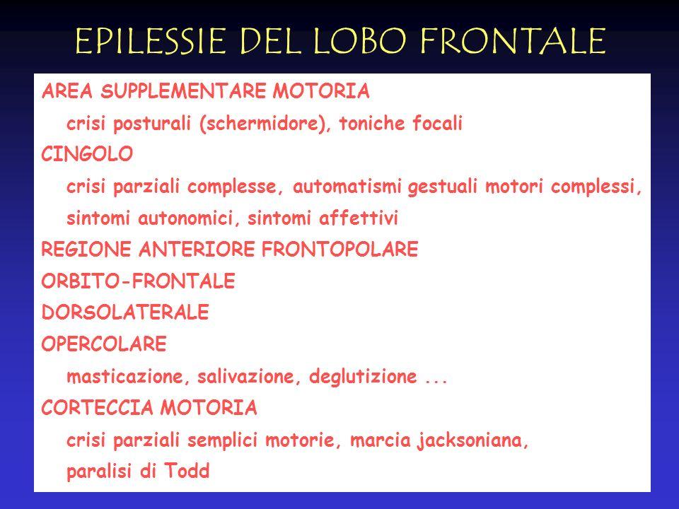 EPILESSIE DEL LOBO FRONTALE