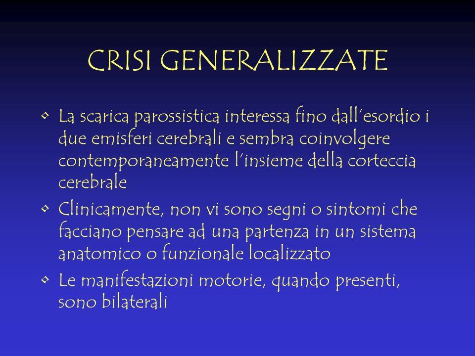 CRISI GENERALIZZATE