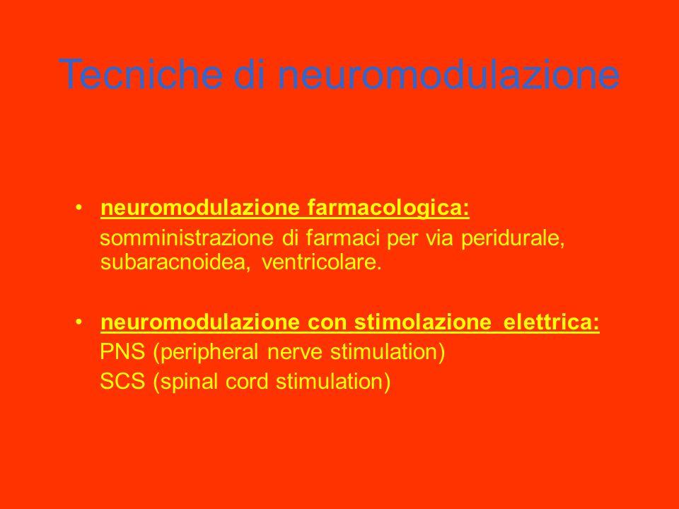 Tecniche di neuromodulazione