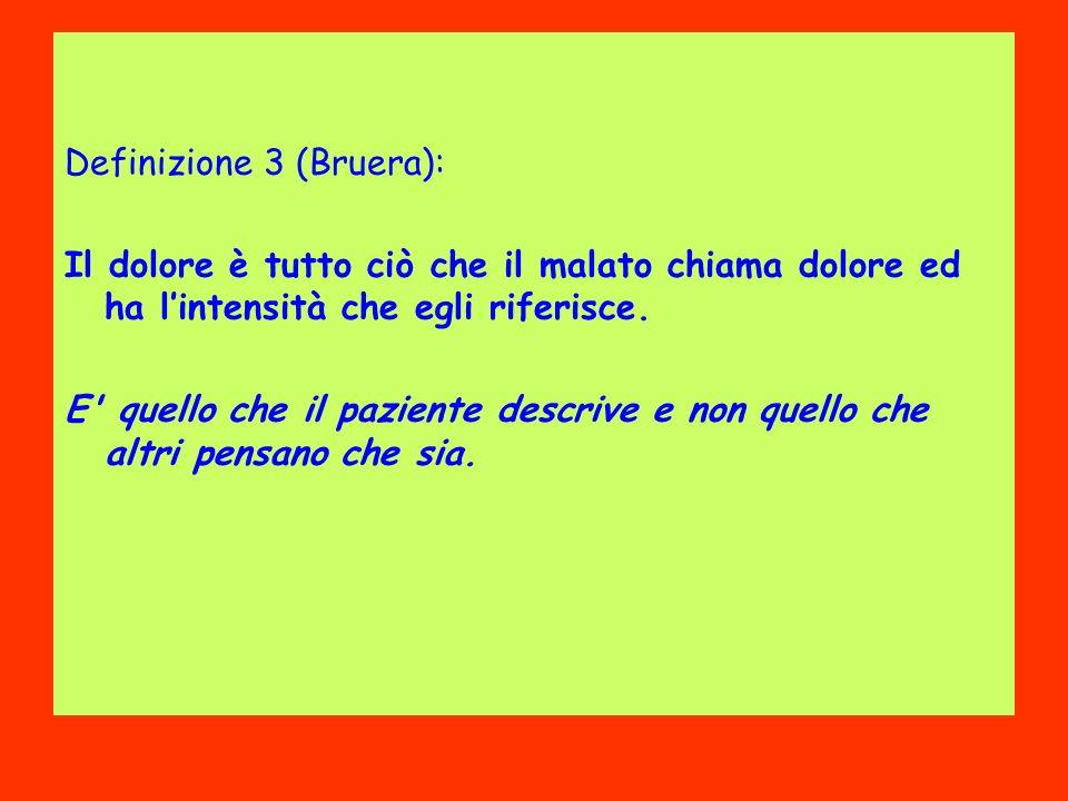 Definizione 3 (Bruera):