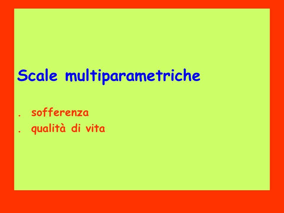 Scale multiparametriche