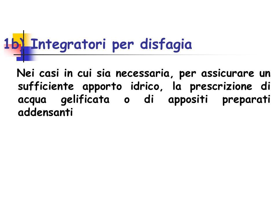 1b) Integratori per disfagia