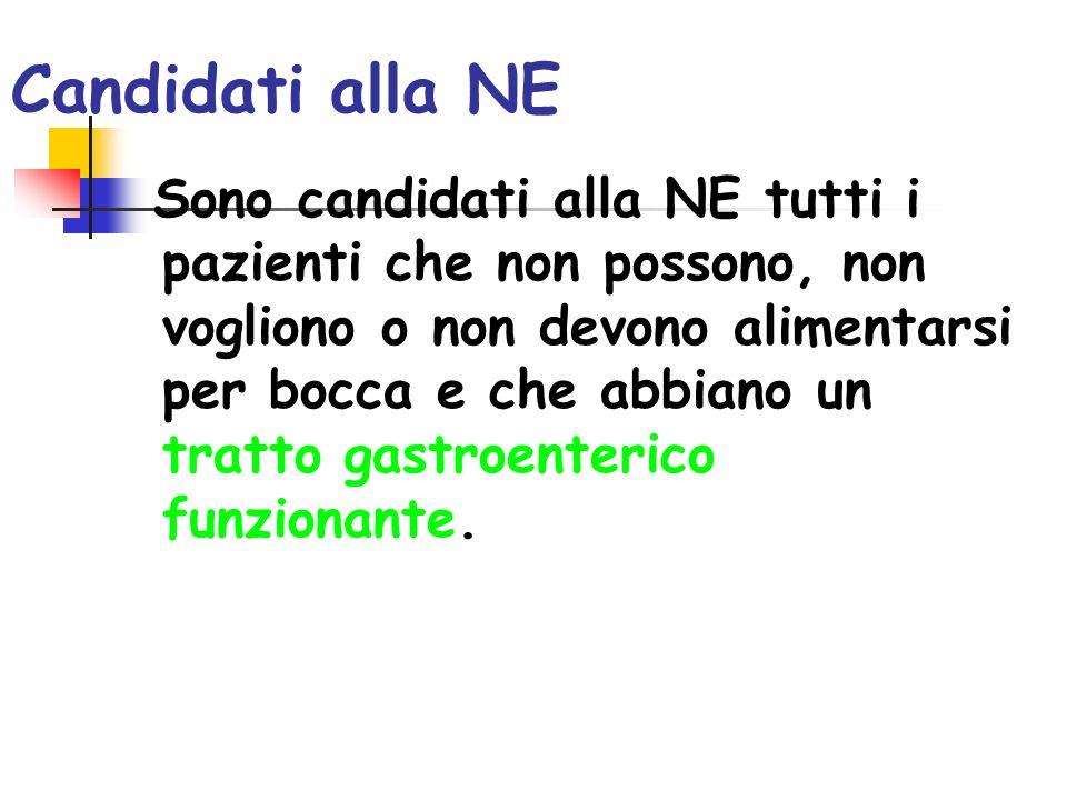 Candidati alla NE