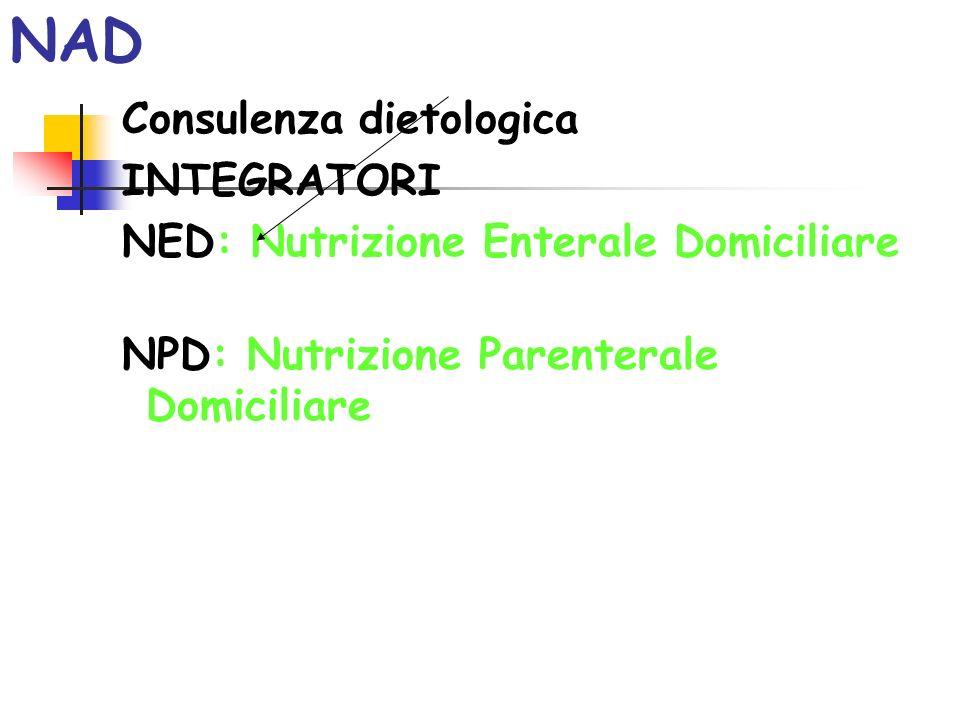 NAD Consulenza dietologica INTEGRATORI