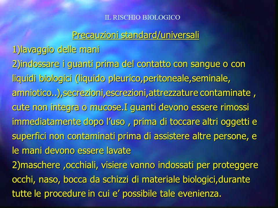 Precauzioni standard/universali