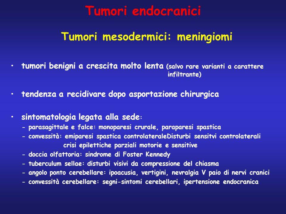 Tumori mesodermici: meningiomi