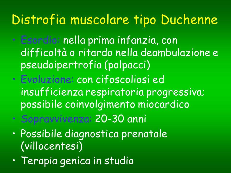 Distrofia muscolare tipo Duchenne