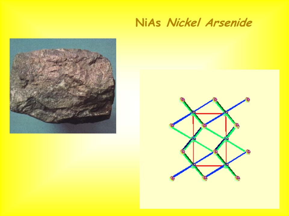 NiAs Nickel Arsenide