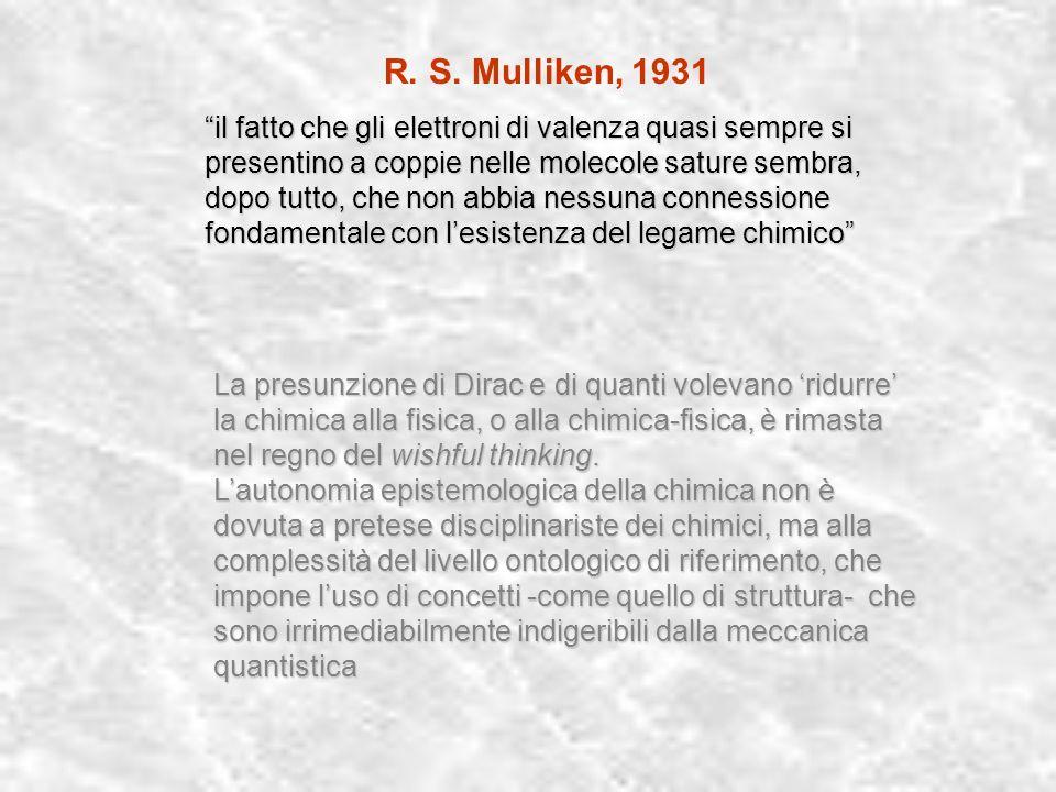 R. S. Mulliken, 1931