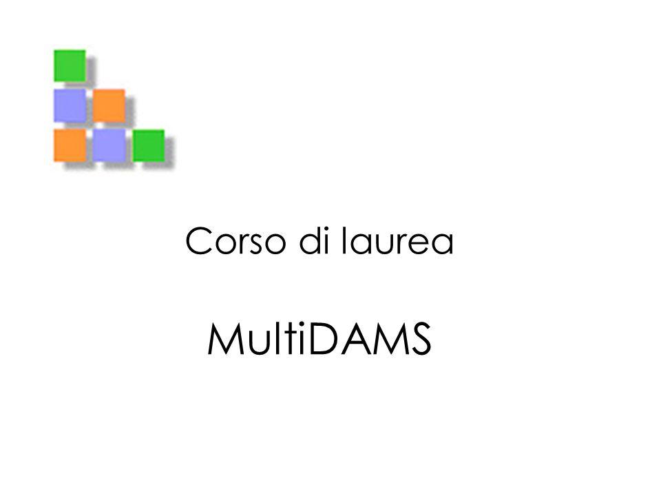 Corso di laurea MultiDAMS