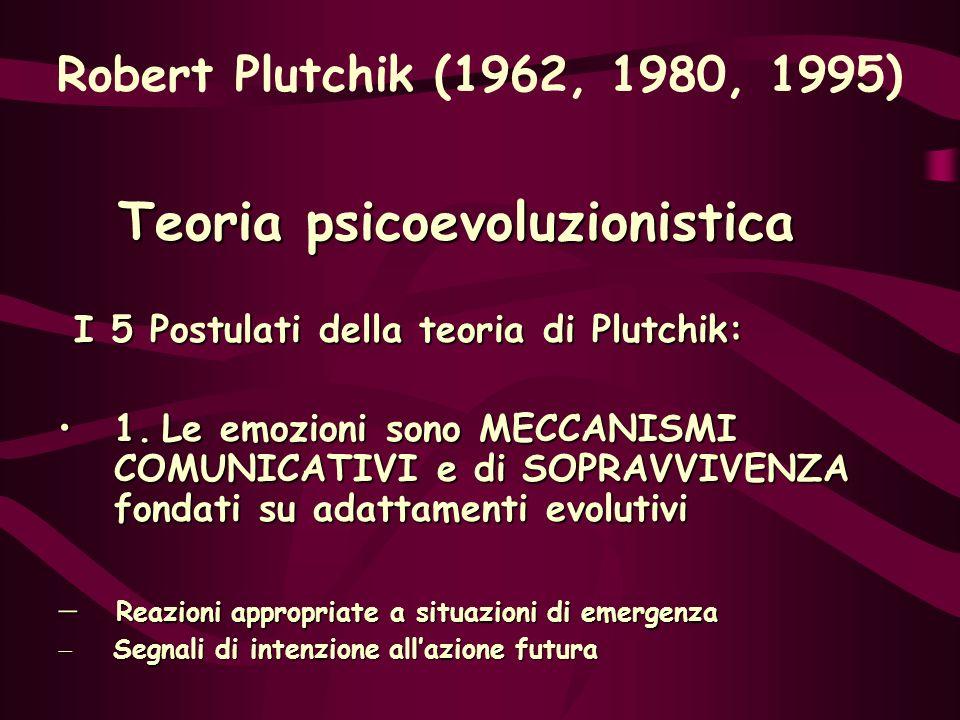 Teoria psicoevoluzionistica