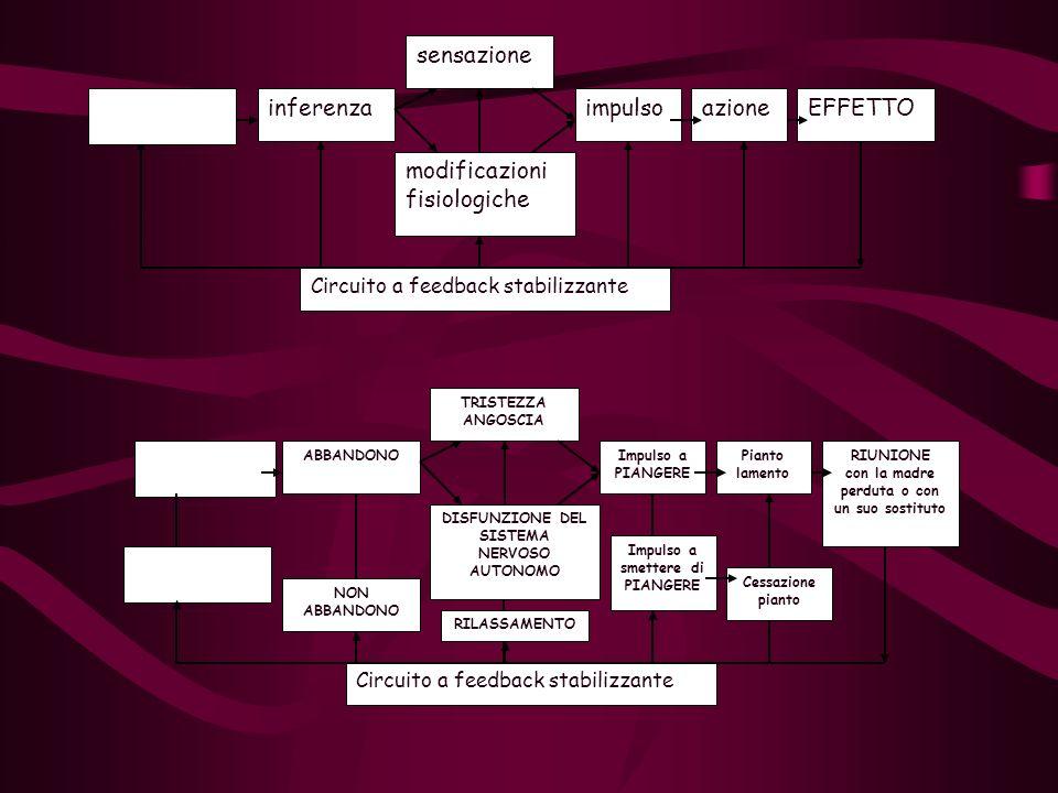 modificazioni fisiologiche impulso azione EFFETTO