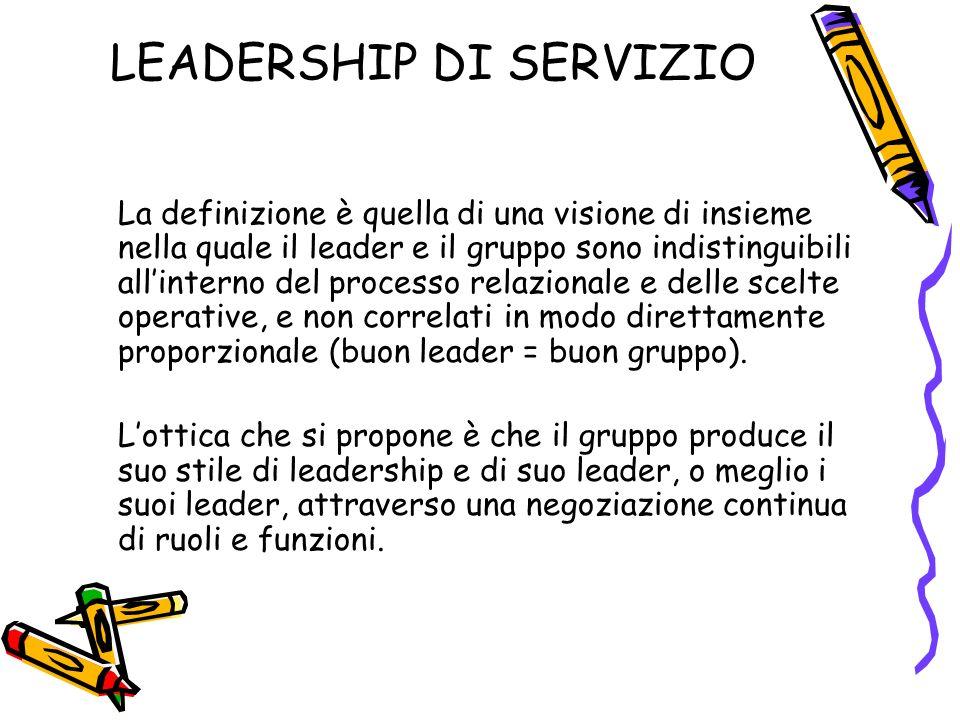 LEADERSHIP DI SERVIZIO