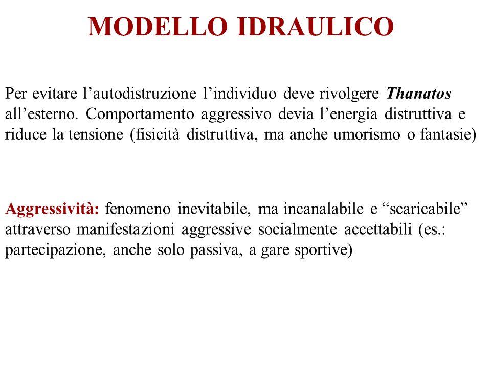 MODELLO IDRAULICO