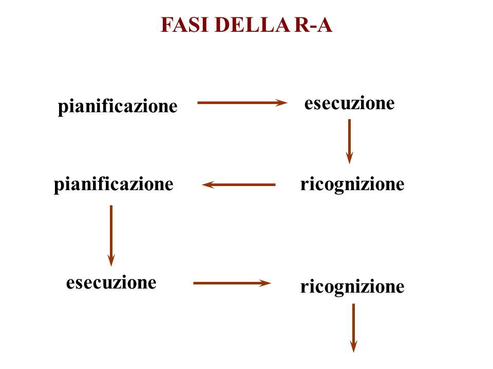 FASI DELLA R-A pianificazione esecuzione ricognizione