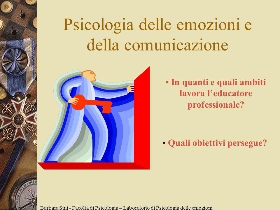 Psicologia delle emozioni e della comunicazione