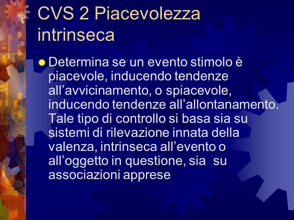 CVS 2 Piacevolezza intrinseca