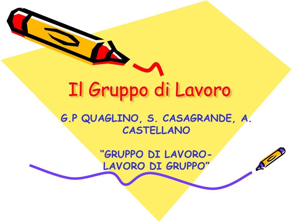G.P QUAGLINO, S. CASAGRANDE, A. CASTELLANO