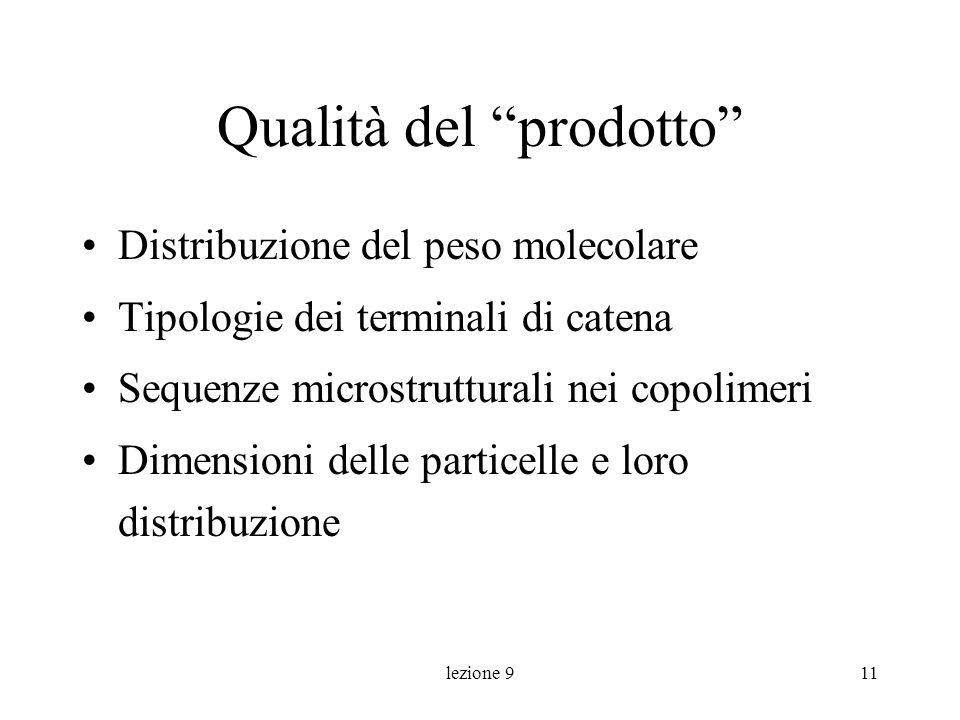 Qualità del prodotto