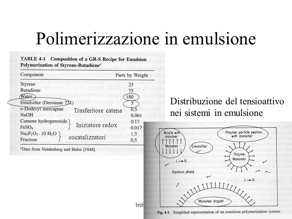Polimerizzazione in emulsione