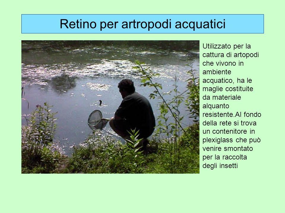 Retino per artropodi acquatici