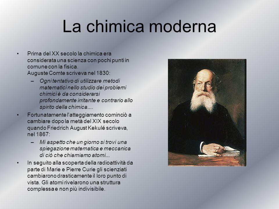 La chimica moderna