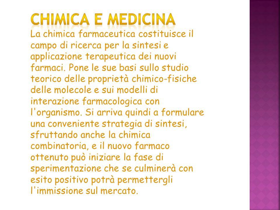 Chimica e medicina