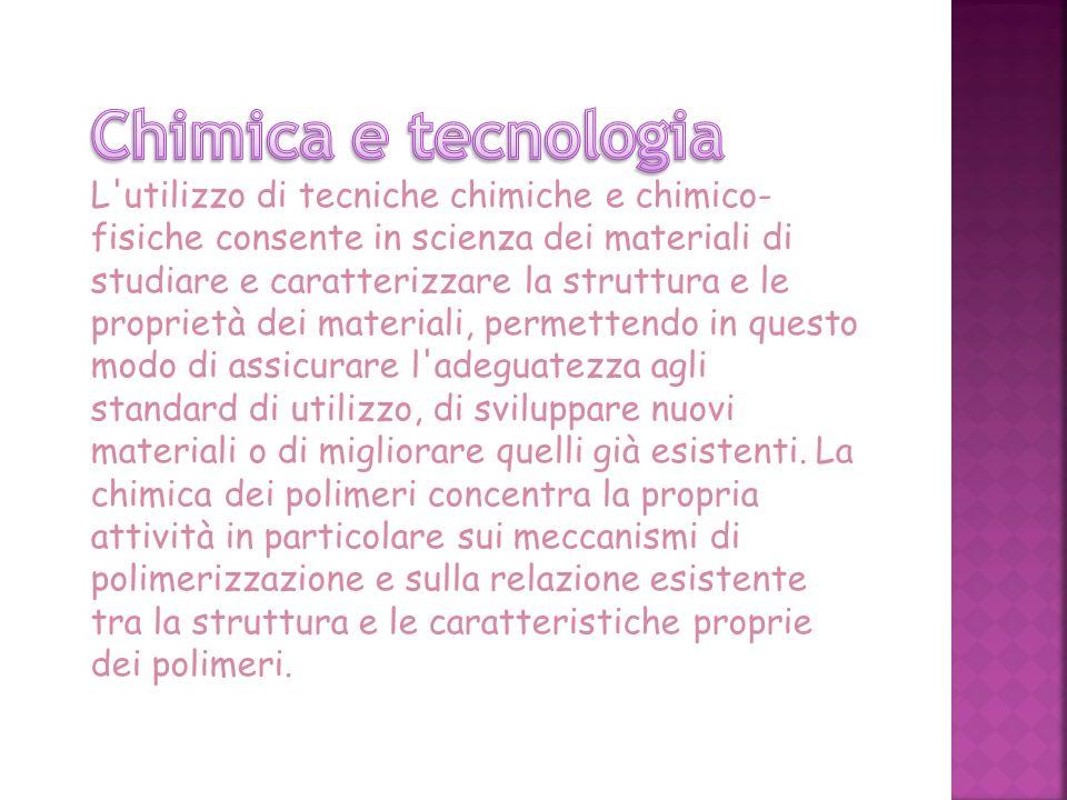 Chimica e tecnologia