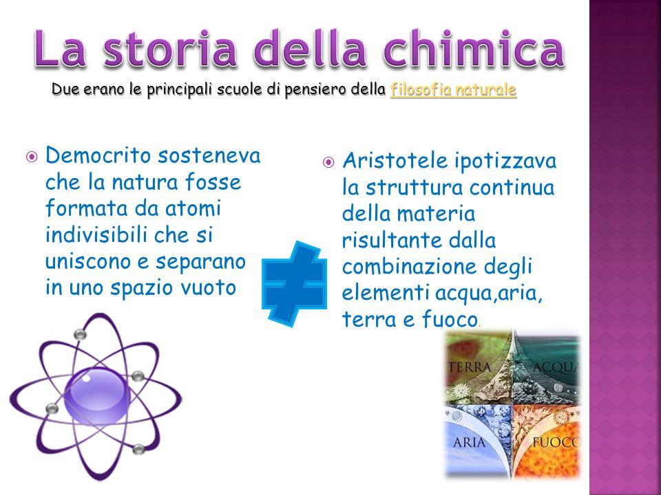 La storia della chimica