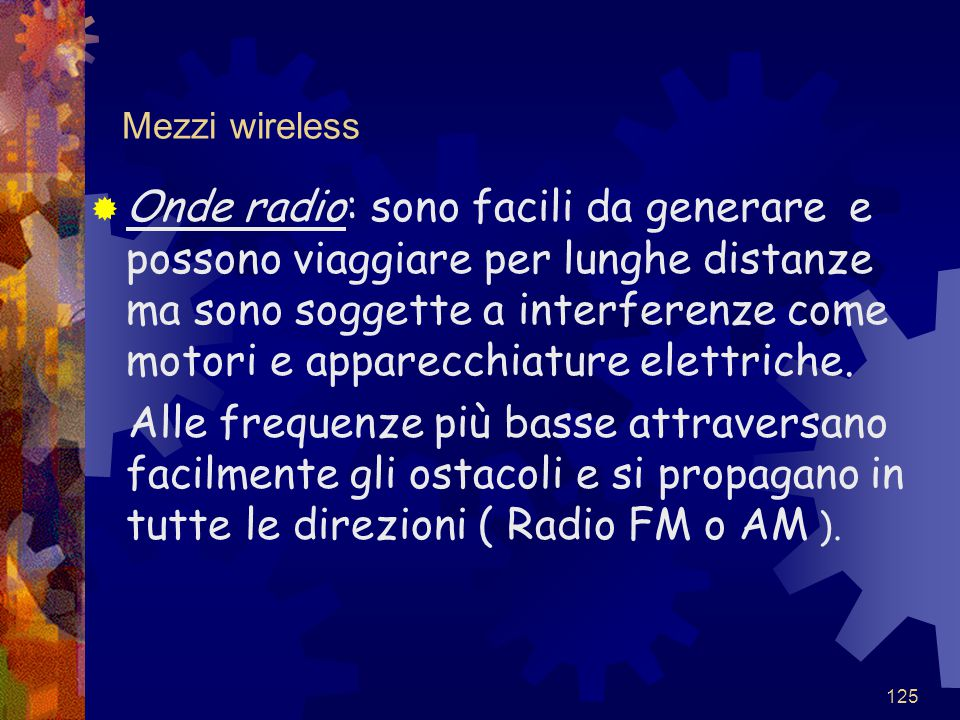 Mezzi wireless