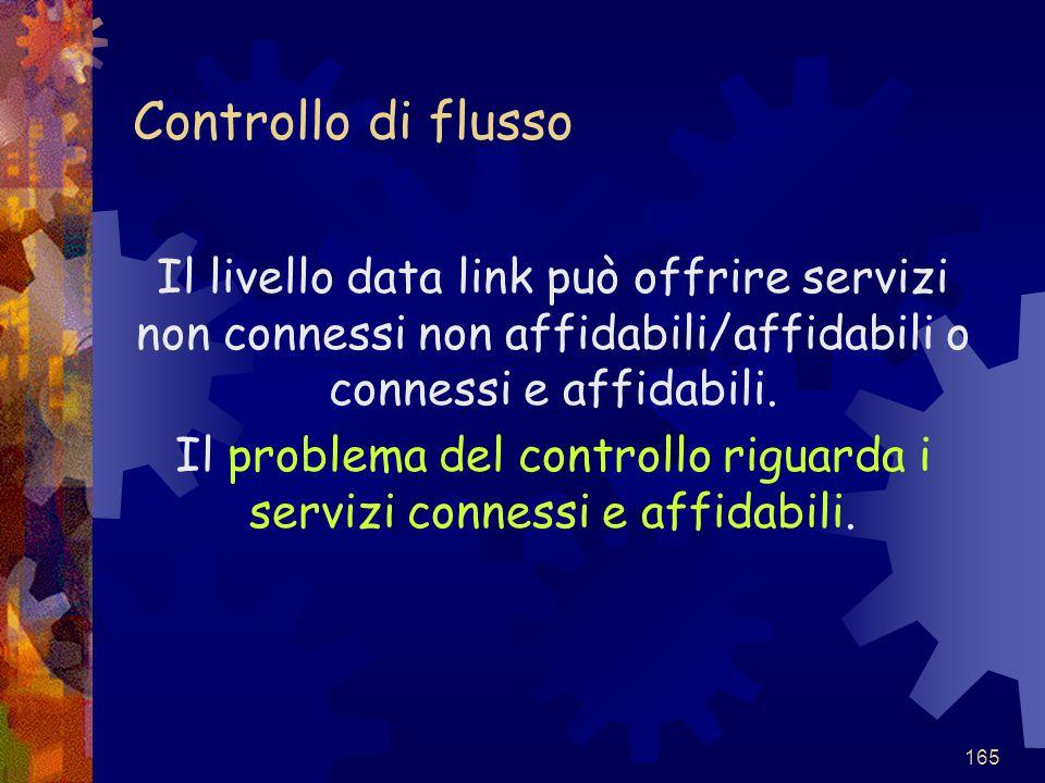 Il problema del controllo riguarda i servizi connessi e affidabili.