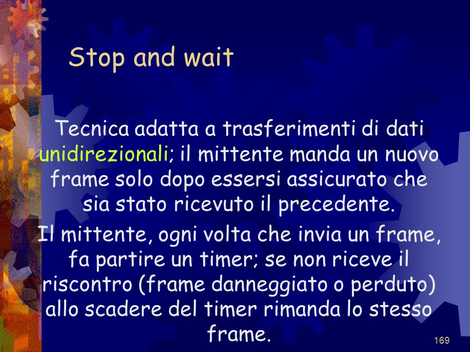 Stop and wait