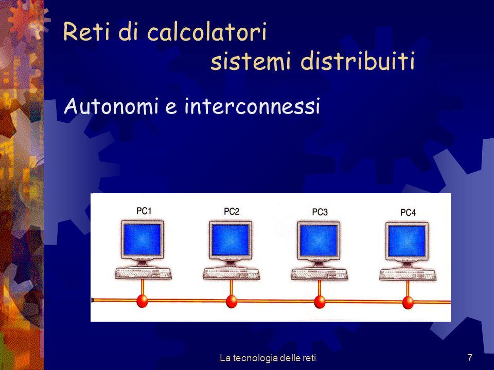 Reti di calcolatori sistemi distribuiti