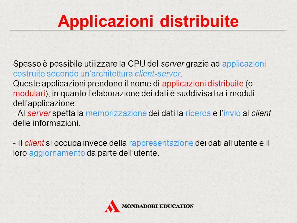 Applicazioni distribuite