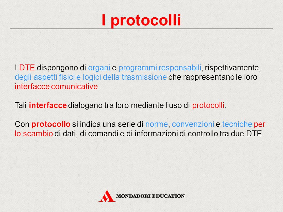 I protocolli