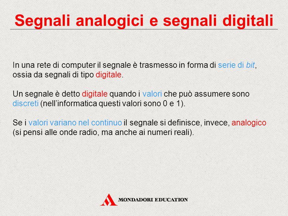 Segnali analogici e segnali digitali