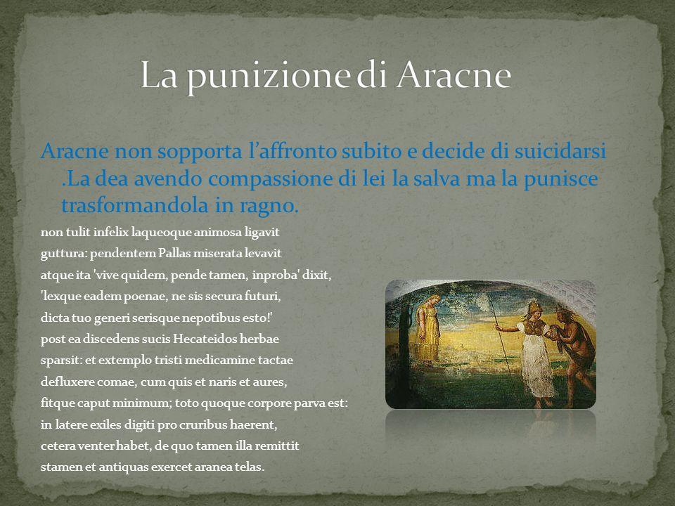 La punizione di Aracne